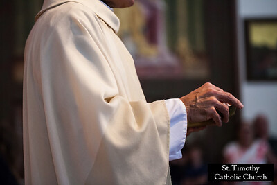 2017 Holy Communion.  St. Timothy Church. www.sttimothyla.org.  Photo by HireVP.com