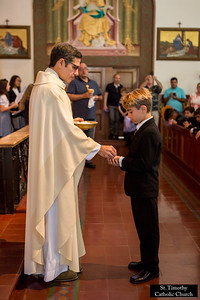 2017 Holy Communion.  St. Timothy Church. www.sttimothyla.org.  Photo by HireVP.com