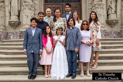 St. Timothy Catholic Church - 2018 Communion. www.sttimothyla.org.  Photo by VenicePaparazzi.com