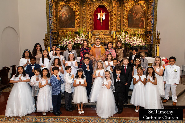2019 St. Timothy's First Holy Communion