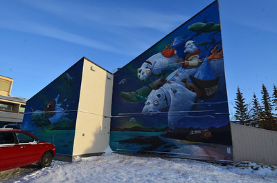 Mural in Churchill