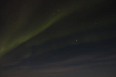 Aurora Borealis & stars - Big Dipper