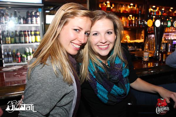 Churchills | Friday 11-14-2014