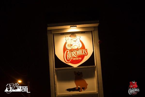 Churchills | Friday 12-5-2014