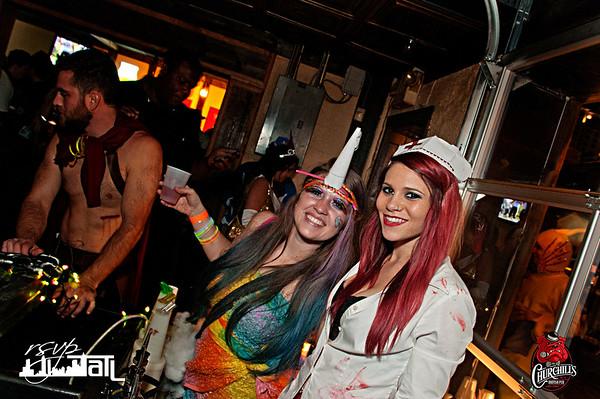 Churchills Halloween | Friday 10-31-14