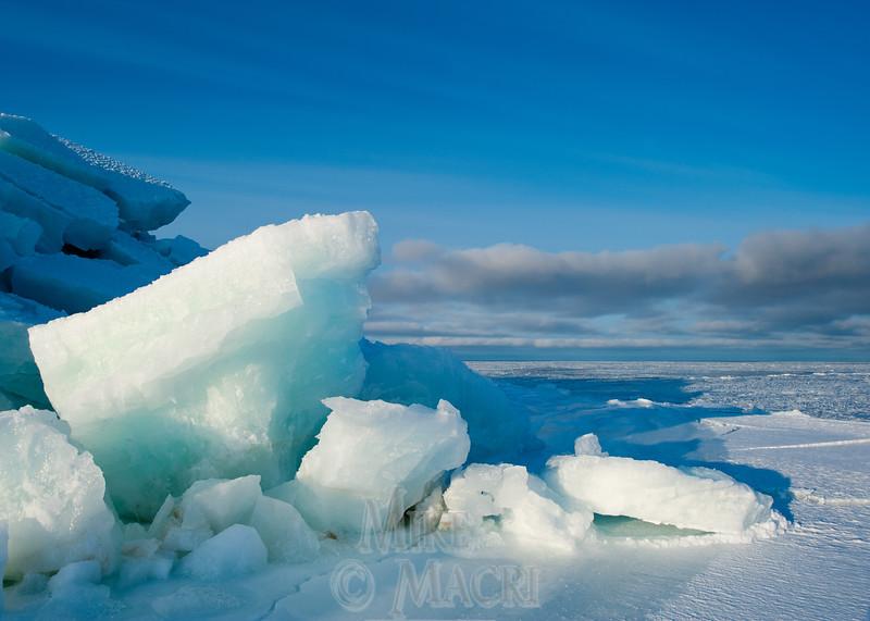 pressure ice at Hudson Bay floe edge 3