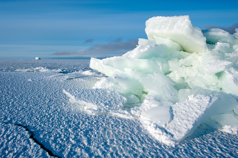 pressure ice at Hudson Bay floe edge 2