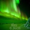 aurora borealis at Hudson Bay floe edge 5