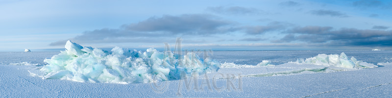 panorama Hudson Bay floe edge
