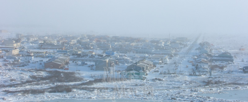 Town of Churchill Manitoba , winter (see Northern scenes gallery for summer town of Churchill).