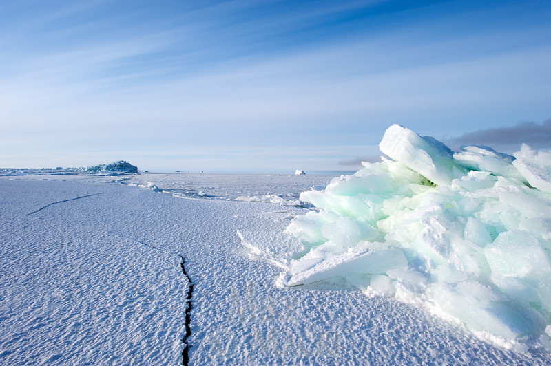 pressure ice at Hudson Bay floe edge 1