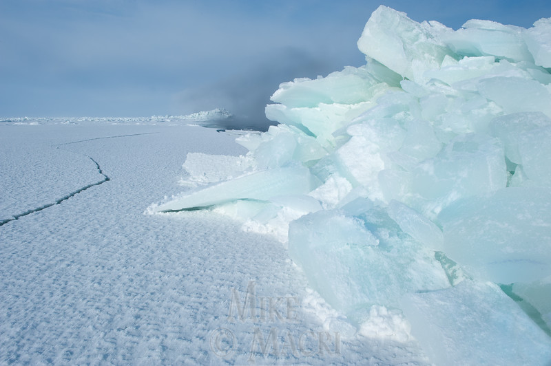 pressure ice at Hudson Bay floe edge 4
