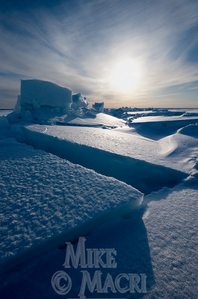 Pressure ice Hudson Bay