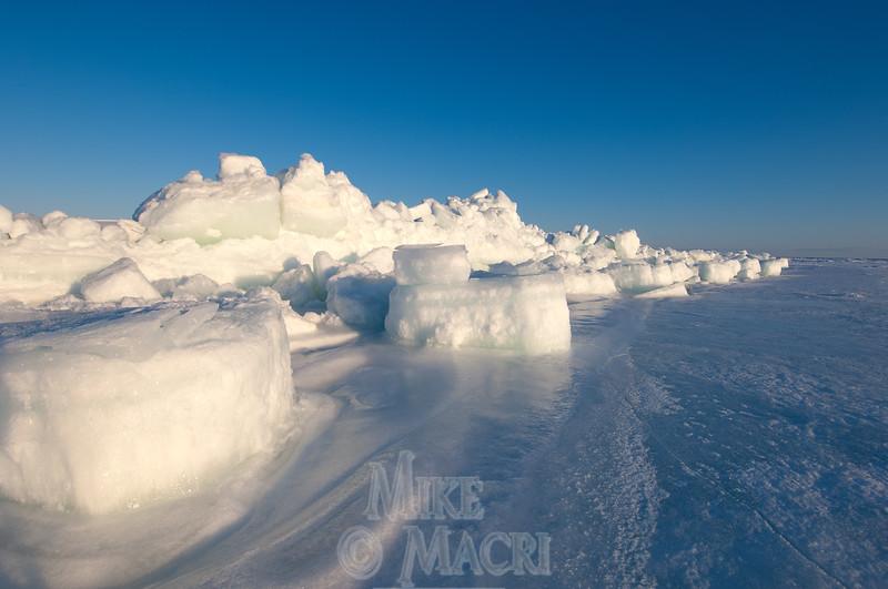 Pressure ice at Hudson Bay floe edge. #1