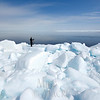 Photographer at  floe edge