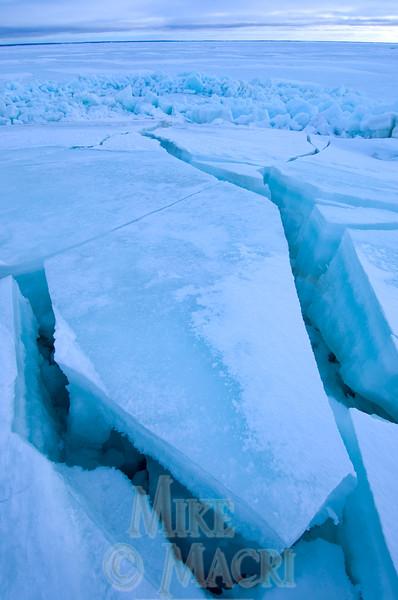 Pressure ice, Hudson Bay
