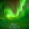 aurora borealis at Hudson Bay floe edge 7