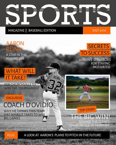 Aaron sports cover