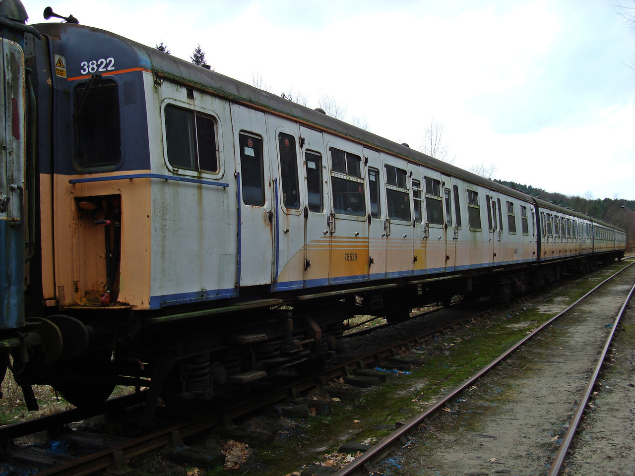 BR 4VEP (Set 3822) 76529,62351,76712, 71032  03,02,2008. All Scrapped