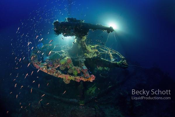 Truk Lagoon Micronesia