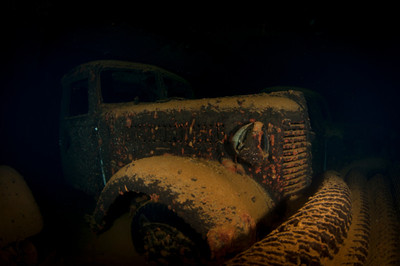 Truck in the Hoki Maru