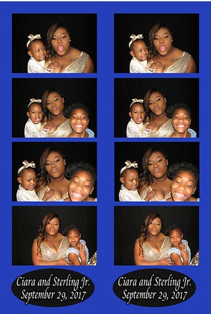 Ciara and Sterling Jr.'s Wedding 9-29-17