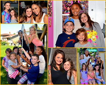 Ciara's 10th. Birthday Celebration 8-4-2016