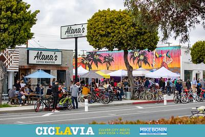 CicLAvia - Culver City Meets Mar Vista + Palms.   Councilmember Mike Bonin 11thDistrict.com.  Photo by VenicePaparazzi.com