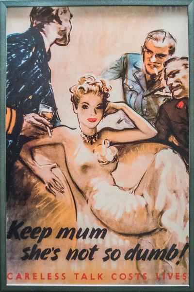 WW II sexist propaganda.