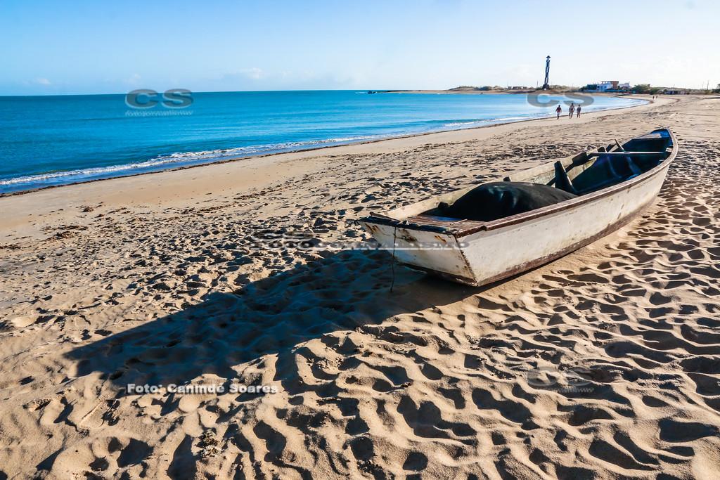 Praia e farol