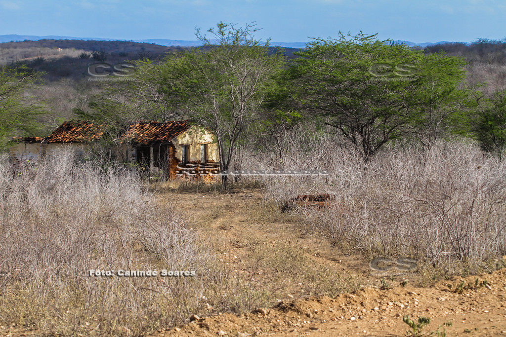 Casa abandonada em sítio