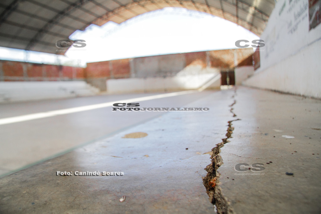 Rachaduras por abalos sísmicos