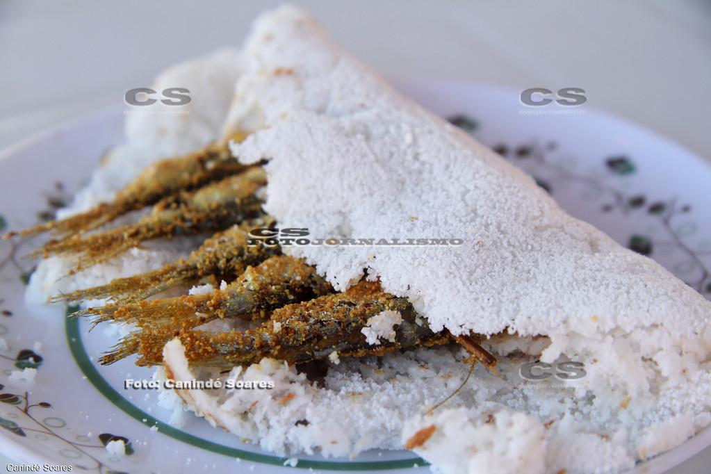 Ginga com tapioca