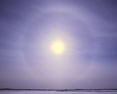 Cirrostratus & halo de 22°