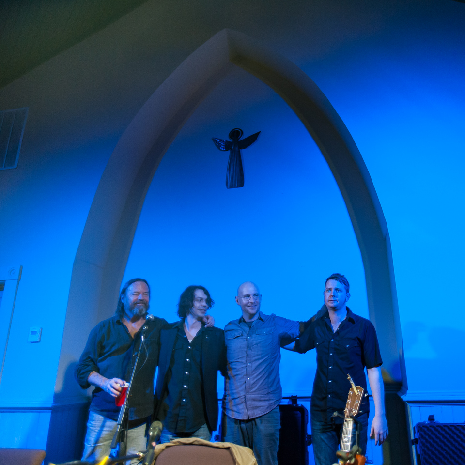 Kevin Welch, Dustin Welch, Jared Tyler and John Fullbright