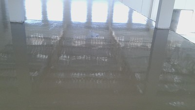Cimento aplicado (tempo de secagem)