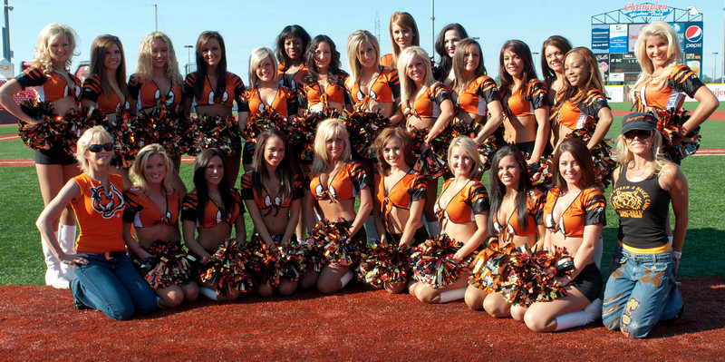 The Bengal Cheerleaders.(CincySportsZone/Scott Davis)