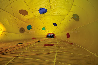 Inside Out Party Time Hot Air Balloon Photography - Dennis Camp