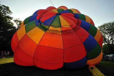 Mushroom Effect Hot Air Balloon Photography - Dennis Camp