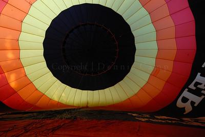 Going Vertical Soon Hot Air Balloon Photography - Dennis Camp