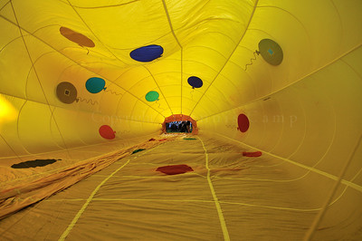 In the Belly Hot Air Balloon Photography - Dennis Camp