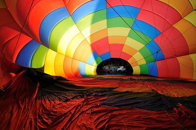 Sunset Lift Hot Air Balloon Photography - Dennis Camp