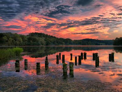 AJ Jolley Park - Sunset