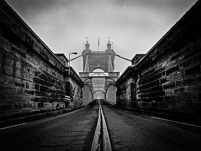 The Roebling Suspension Bridge - 2