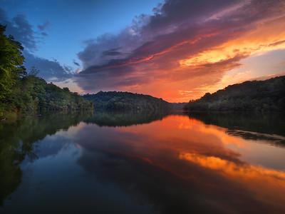 Doe Run Lake Sunset #1