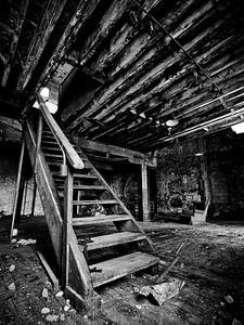 Jackson Brewery - 2nd Floor Stairs