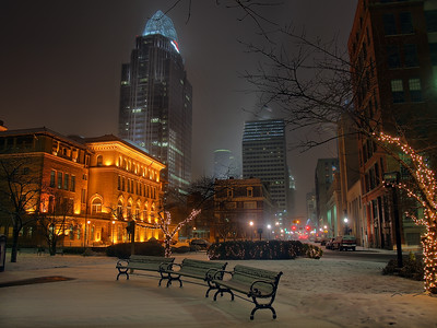 Winter From The East Side Of Downtown