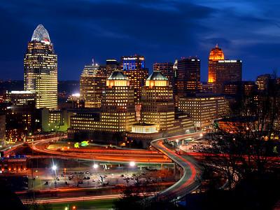 Blue Hour Cincinnati