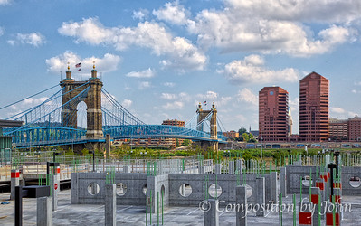 Cincinnati Riverfront View