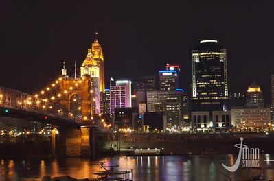 Light Up Cincinnati Night